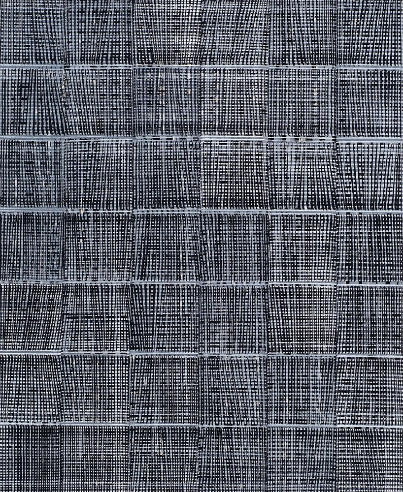 Nikola Dimitrov, Aria-Improvisation I 2013, Pigmente, Bindemittel auf Leinwand, 110 × 90 cm