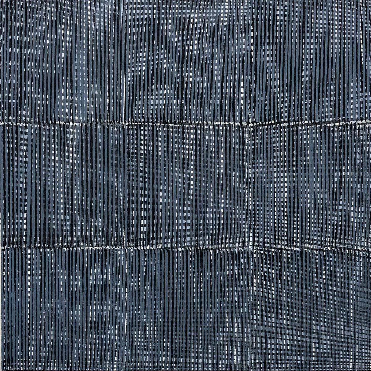 Nikola Dimitrov, Allegorie II/III 2013, Pigmente, Bindemittel auf Leinwand, 60 × 60 cm