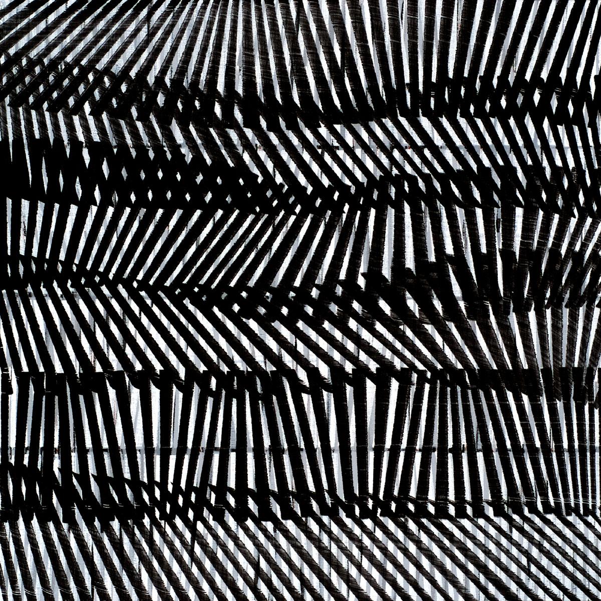 Nikola Dimitrov, KlangStück V 2016, Pigmente, Bindemittel auf Leinwand, 80 × 80 cm